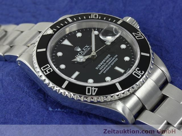 Used luxury watch Rolex Submariner steel automatic Kal. 3135 Ref. 16610  | 140878 14