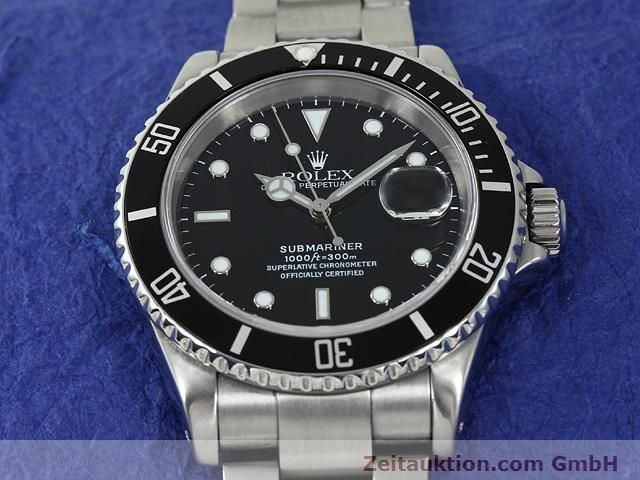 Used luxury watch Rolex Submariner steel automatic Kal. 3135 Ref. 16610  | 140878 15