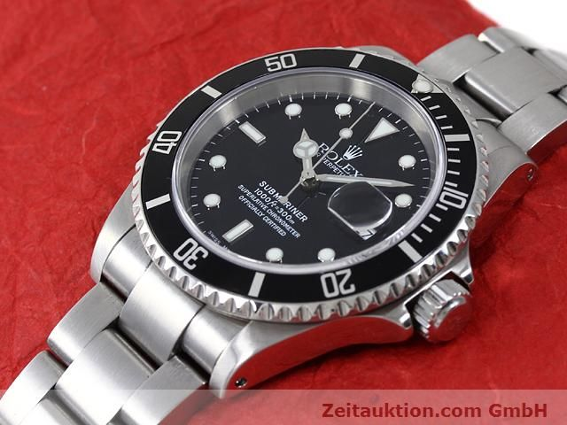 Used luxury watch Rolex Submariner steel automatic Kal. 3135 Ref. 16610  | 140879 01