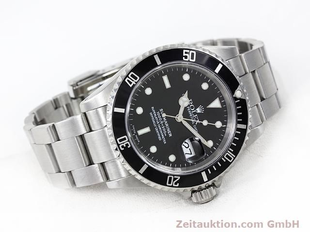 Used luxury watch Rolex Submariner steel automatic Kal. 3135 Ref. 16610  | 140879 03