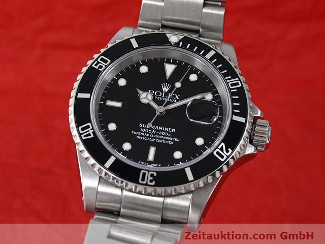 Used luxury watch Rolex Submariner steel automatic Kal. 3135 Ref. 16610  | 140879 04