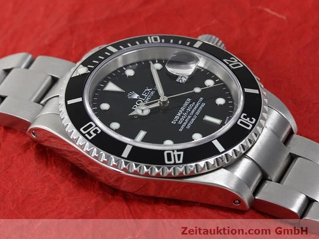 Used luxury watch Rolex Submariner steel automatic Kal. 3135 Ref. 16610  | 140879 14
