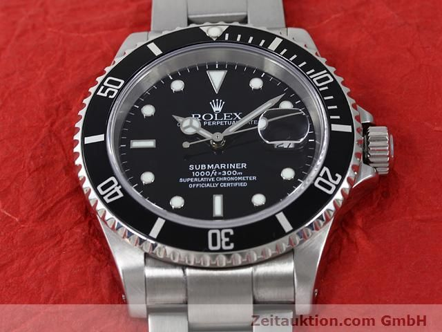 Used luxury watch Rolex Submariner steel automatic Kal. 3135 Ref. 16610  | 140879 15