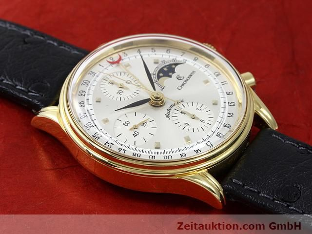 Used luxury watch Chronoswiss Lunar gold-plated automatic Kal. ETA 7750  | 140880 14