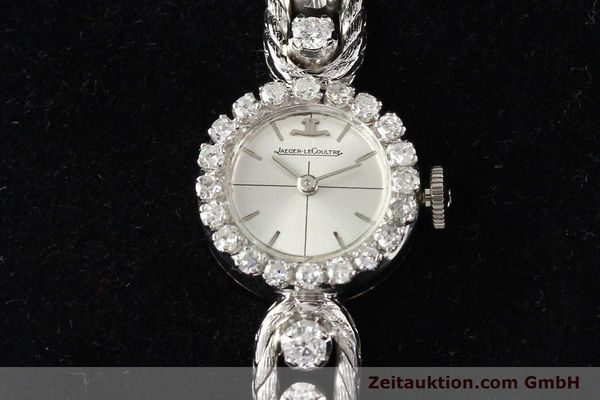 Used luxury watch Jaeger Le Coultre * 18 ct white gold manual winding  | 140883 07