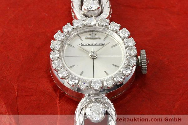Used luxury watch Jaeger Le Coultre * 18 ct white gold manual winding  | 140883 15