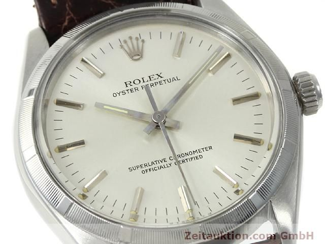 Used luxury watch Rolex Oyster Perpetual steel automatic Kal. 1570 Ref. 1003  | 140889 02