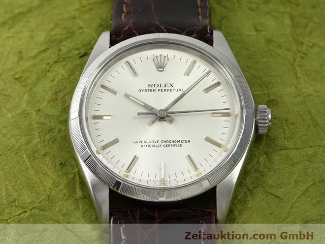 Used luxury watch Rolex Oyster Perpetual steel automatic Kal. 1570 Ref. 1003  | 140889 13