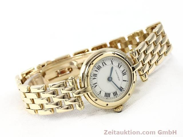 montre de luxe d occasion Cartier Panthere or 18 ct quartz Kal. 157  | 140892 03