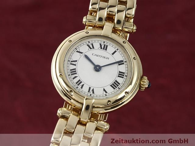 montre de luxe d occasion Cartier Panthere or 18 ct quartz Kal. 157  | 140892 04