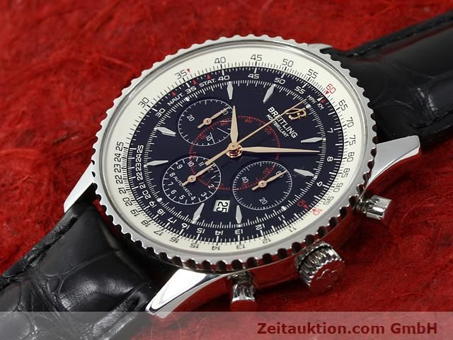 Used luxury watch Breitling Montbrillant steel automatic Kal. ETA 2892A2 Ref. A41370  | 140894 01