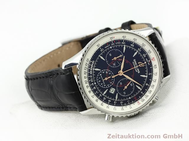 Used luxury watch Breitling Montbrillant steel automatic Kal. ETA 2892A2 Ref. A41370  | 140894 03