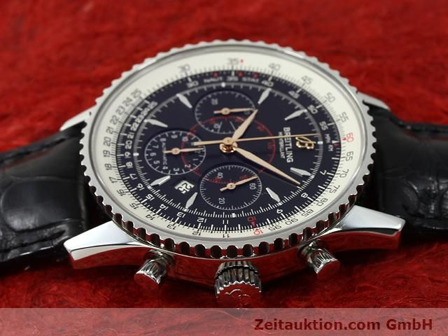 Used luxury watch Breitling Montbrillant steel automatic Kal. ETA 2892A2 Ref. A41370  | 140894 05