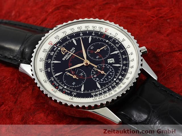Used luxury watch Breitling Montbrillant steel automatic Kal. ETA 2892A2 Ref. A41370  | 140894 13