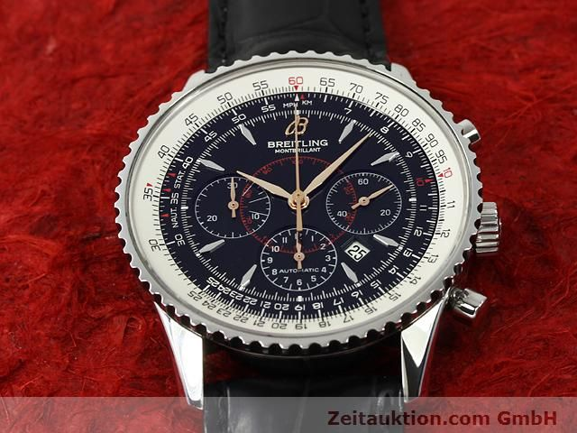 Used luxury watch Breitling Montbrillant steel automatic Kal. ETA 2892A2 Ref. A41370  | 140894 14