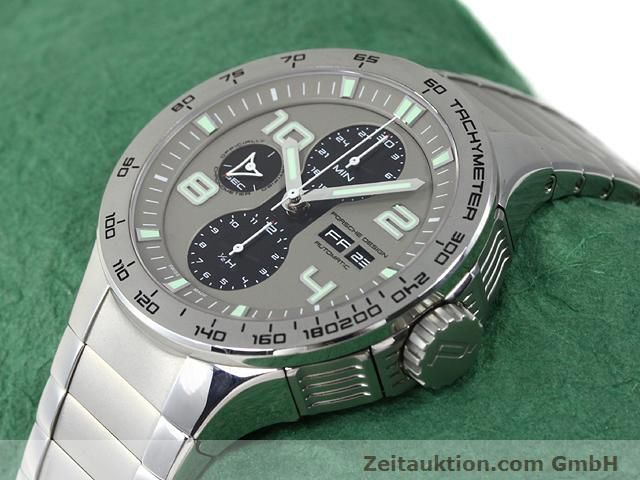 Used luxury watch Porsche Design * steel automatic Kal. ETA 7750 Ref. P6340  | 140896 01