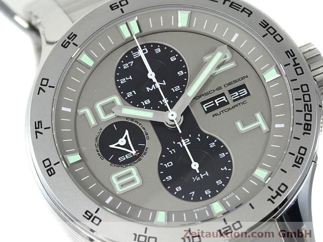 Used luxury watch Porsche Design * steel automatic Kal. ETA 7750 Ref. P6340  | 140896 02