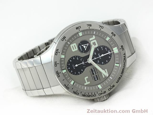 Used luxury watch Porsche Design * steel automatic Kal. ETA 7750 Ref. P6340  | 140896 03