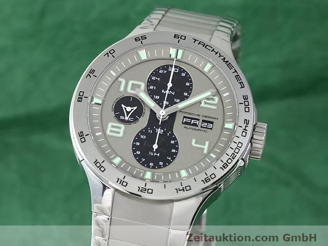 Used luxury watch Porsche Design * steel automatic Kal. ETA 7750 Ref. P6340  | 140896 04