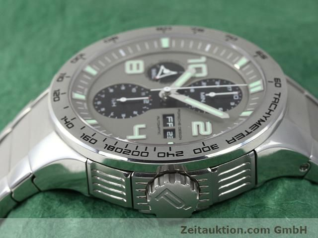 Used luxury watch Porsche Design * steel automatic Kal. ETA 7750 Ref. P6340  | 140896 05