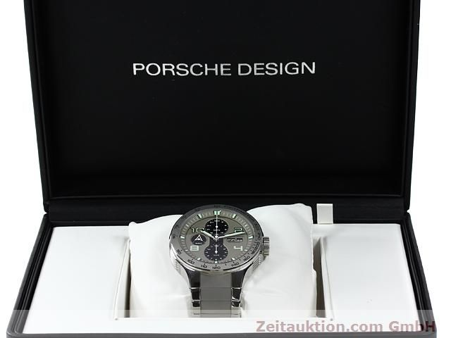 Used luxury watch Porsche Design * steel automatic Kal. ETA 7750 Ref. P6340  | 140896 07