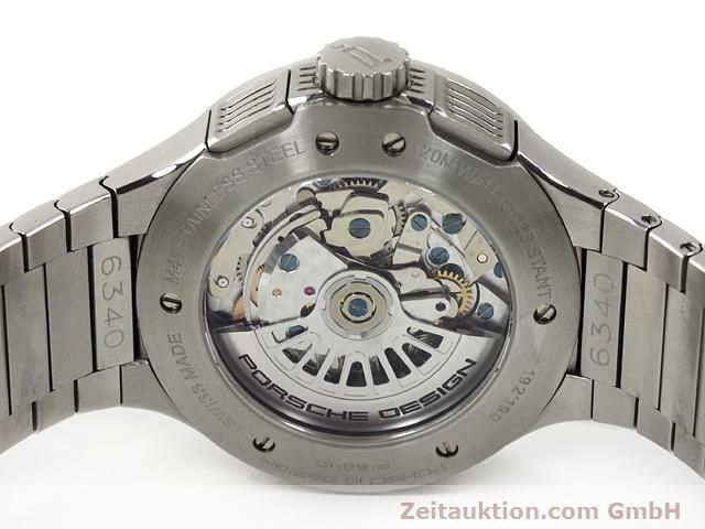 Used luxury watch Porsche Design * steel automatic Kal. ETA 7750 Ref. P6340  | 140896 09