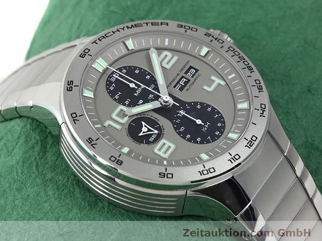 Used luxury watch Porsche Design * steel automatic Kal. ETA 7750 Ref. P6340  | 140896 14