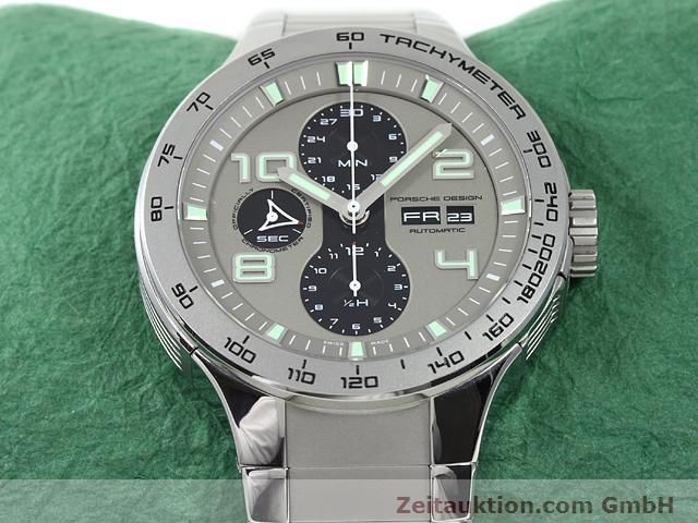Used luxury watch Porsche Design * steel automatic Kal. ETA 7750 Ref. P6340  | 140896 15