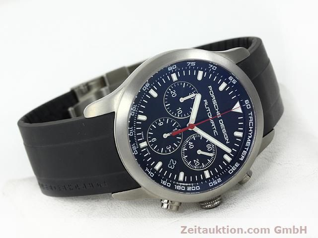 Used luxury watch Porsche Design Dashbord titanium automatic Kal. ETA 2894-2 Ref. 6612.11/2  | 140898 03