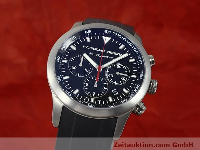 Used luxury watch Porsche Design Dashbord titanium automatic Kal. ETA 2894-2 Ref. 6612.11/2  | 140898 04