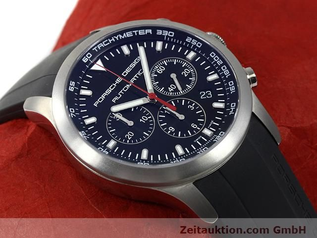 Used luxury watch Porsche Design Dashbord titanium automatic Kal. ETA 2894-2 Ref. 6612.11/2  | 140898 14