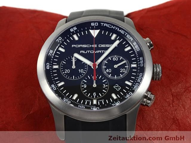 Used luxury watch Porsche Design Dashbord titanium automatic Kal. ETA 2894-2 Ref. 6612.11/2  | 140898 15