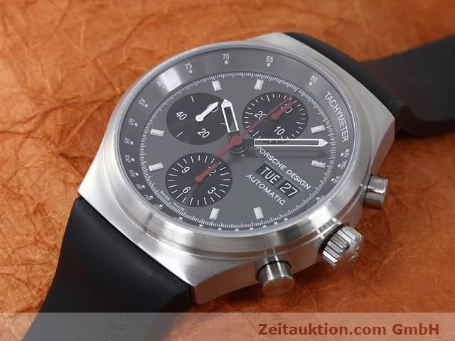 Used luxury watch Porsche Design * chronograph steel automatic Kal. ETA 7750 Ref. 6625.41/1  | 140900 01