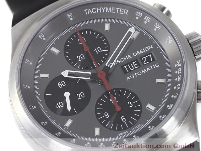 Used luxury watch Porsche Design * chronograph steel automatic Kal. ETA 7750 Ref. 6625.41/1  | 140900 02