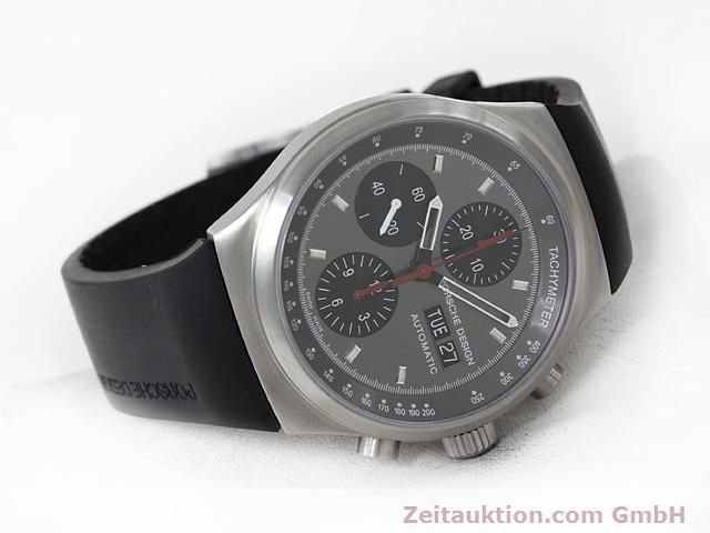 Used luxury watch Porsche Design * chronograph steel automatic Kal. ETA 7750 Ref. 6625.41/1  | 140900 03