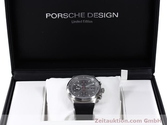 Used luxury watch Porsche Design * chronograph steel automatic Kal. ETA 7750 Ref. 6625.41/1  | 140900 07