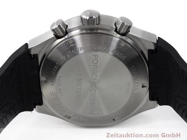 Used luxury watch Porsche Design * chronograph steel automatic Kal. ETA 7750 Ref. 6625.41/1  | 140900 08
