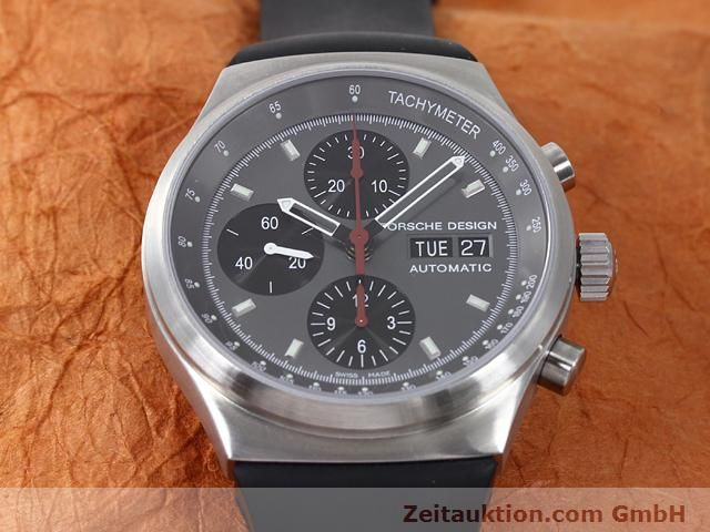 Used luxury watch Porsche Design * chronograph steel automatic Kal. ETA 7750 Ref. 6625.41/1  | 140900 15