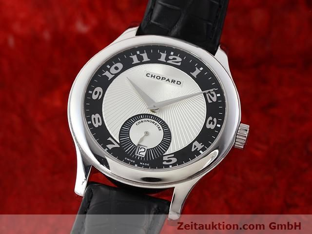 Used luxury watch Chopard L.U.C. 18 ct white gold automatic Kal. 3.96  | 140901 04