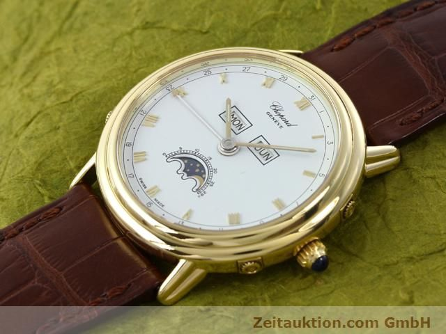 Used luxury watch Chopard Luna Doro 18 ct gold automatic Kal. 900 Ref. 1114  | 140903 01