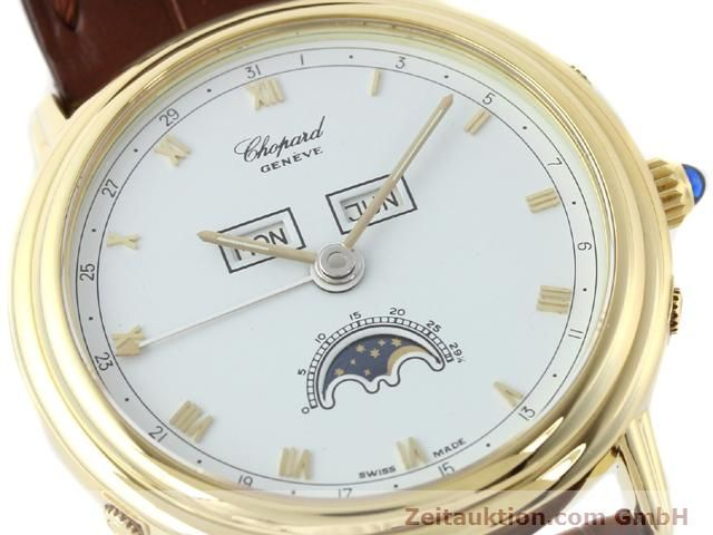Used luxury watch Chopard Luna Doro 18 ct gold automatic Kal. 900 Ref. 1114  | 140903 02