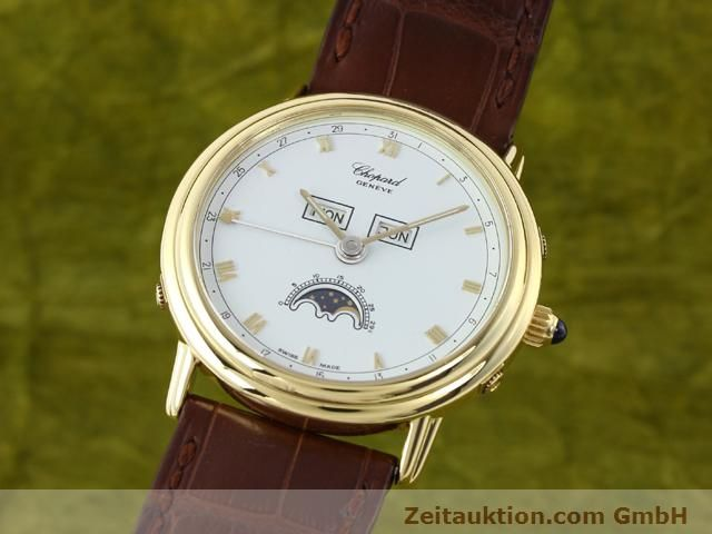 Used luxury watch Chopard Luna Doro 18 ct gold automatic Kal. 900 Ref. 1114  | 140903 04