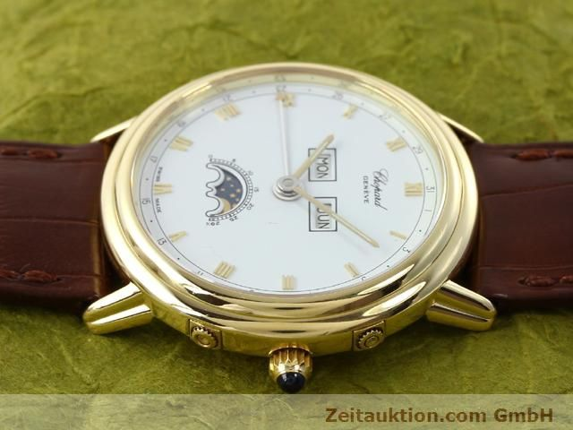 Used luxury watch Chopard Luna Doro 18 ct gold automatic Kal. 900 Ref. 1114  | 140903 05