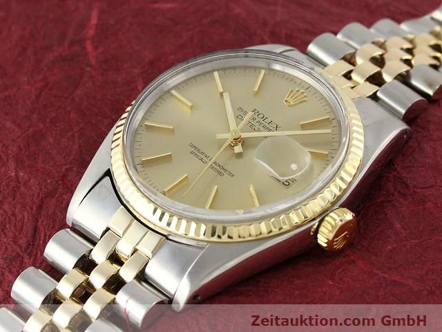 montre de luxe d occasion Rolex Datejust acier / or  automatique Kal. 3035 Ref. 16013  | 140905 01