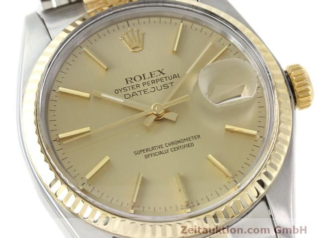 montre de luxe d occasion Rolex Datejust acier / or  automatique Kal. 3035 Ref. 16013  | 140905 02