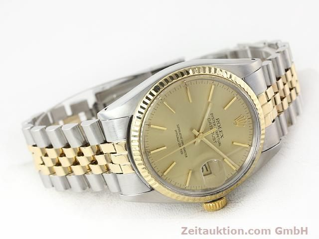 montre de luxe d occasion Rolex Datejust acier / or  automatique Kal. 3035 Ref. 16013  | 140905 03