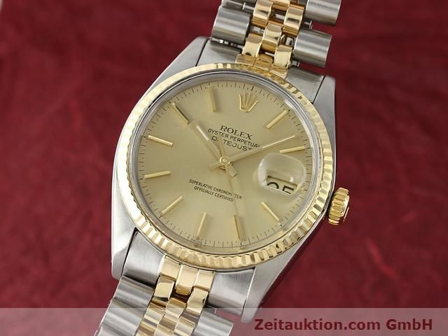 montre de luxe d occasion Rolex Datejust acier / or  automatique Kal. 3035 Ref. 16013  | 140905 04