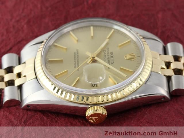montre de luxe d occasion Rolex Datejust acier / or  automatique Kal. 3035 Ref. 16013  | 140905 05