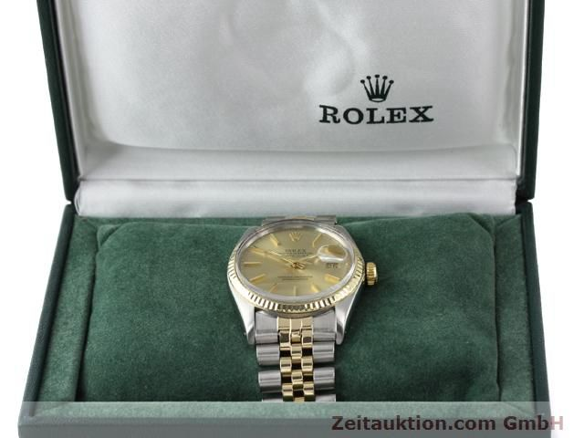 montre de luxe d occasion Rolex Datejust acier / or  automatique Kal. 3035 Ref. 16013  | 140905 07