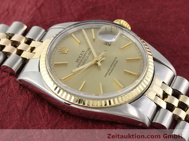 montre de luxe d occasion Rolex Datejust acier / or  automatique Kal. 3035 Ref. 16013  | 140905 14